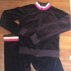 Juicy Couture Matching velour tracksuit